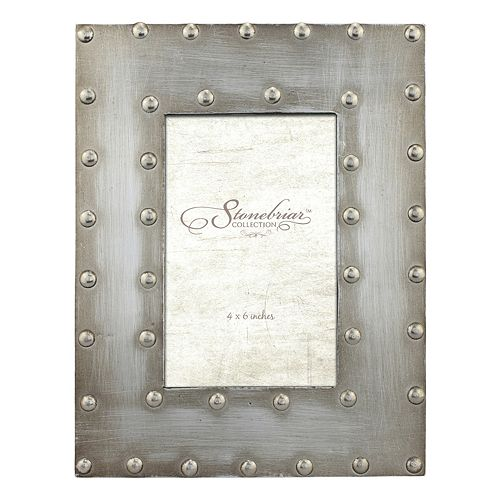 """Stonebriar Collection Industrial 4"""" x 6"""" Frame"""