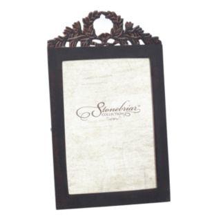 "Stonebriar Collection Metal Baroque 4"" x 6"" Frame"