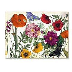 Trademark Fine Art Printemps I Canvas Wall Art