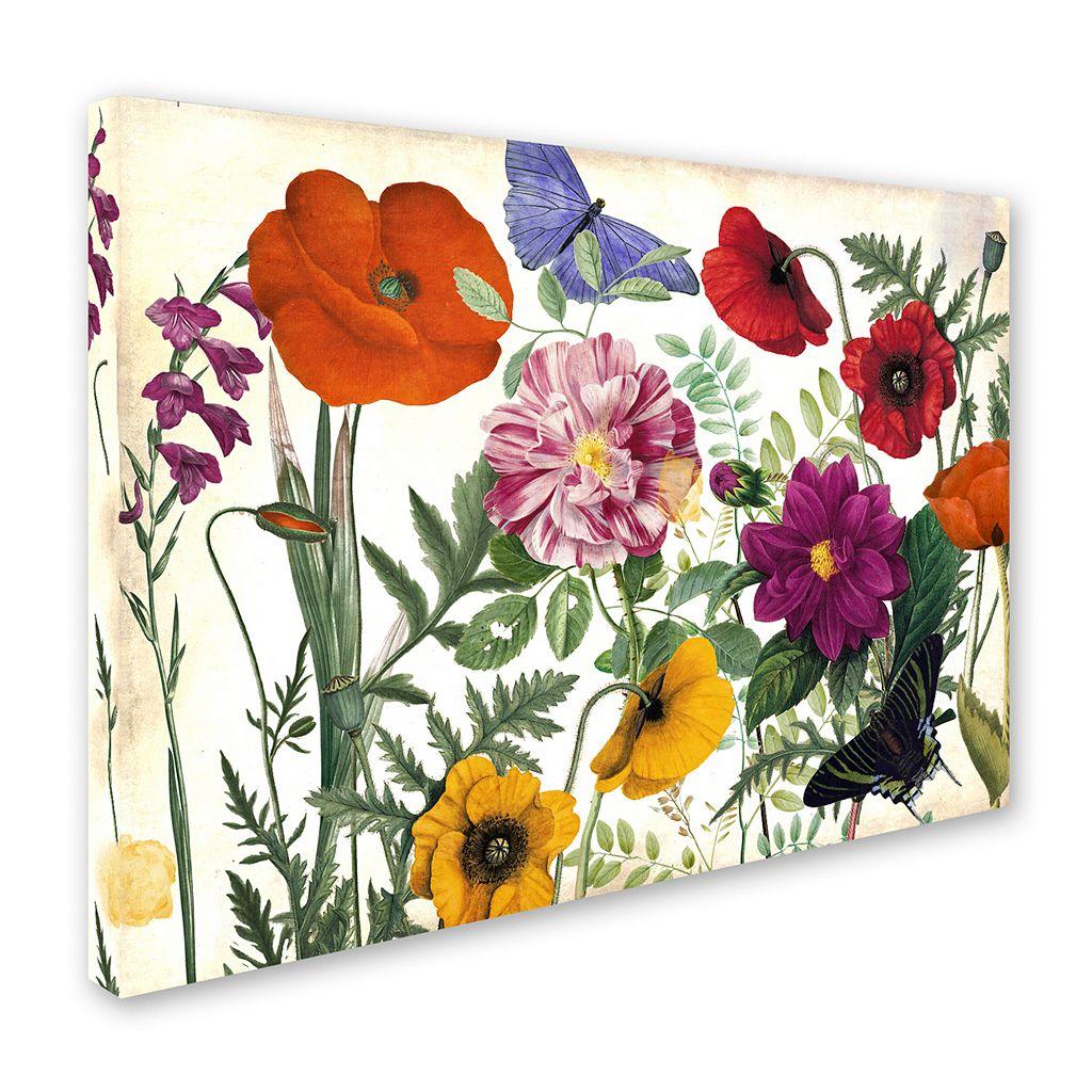 Trademark Fine Art Printemps I Canvas Wall Art