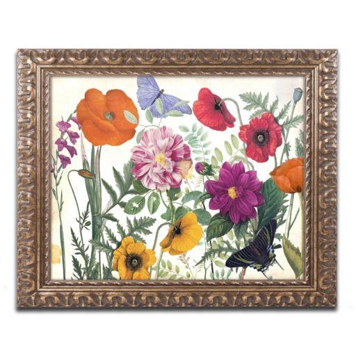 Trademark Fine Art Printemps I Ornate Framed Wall Art