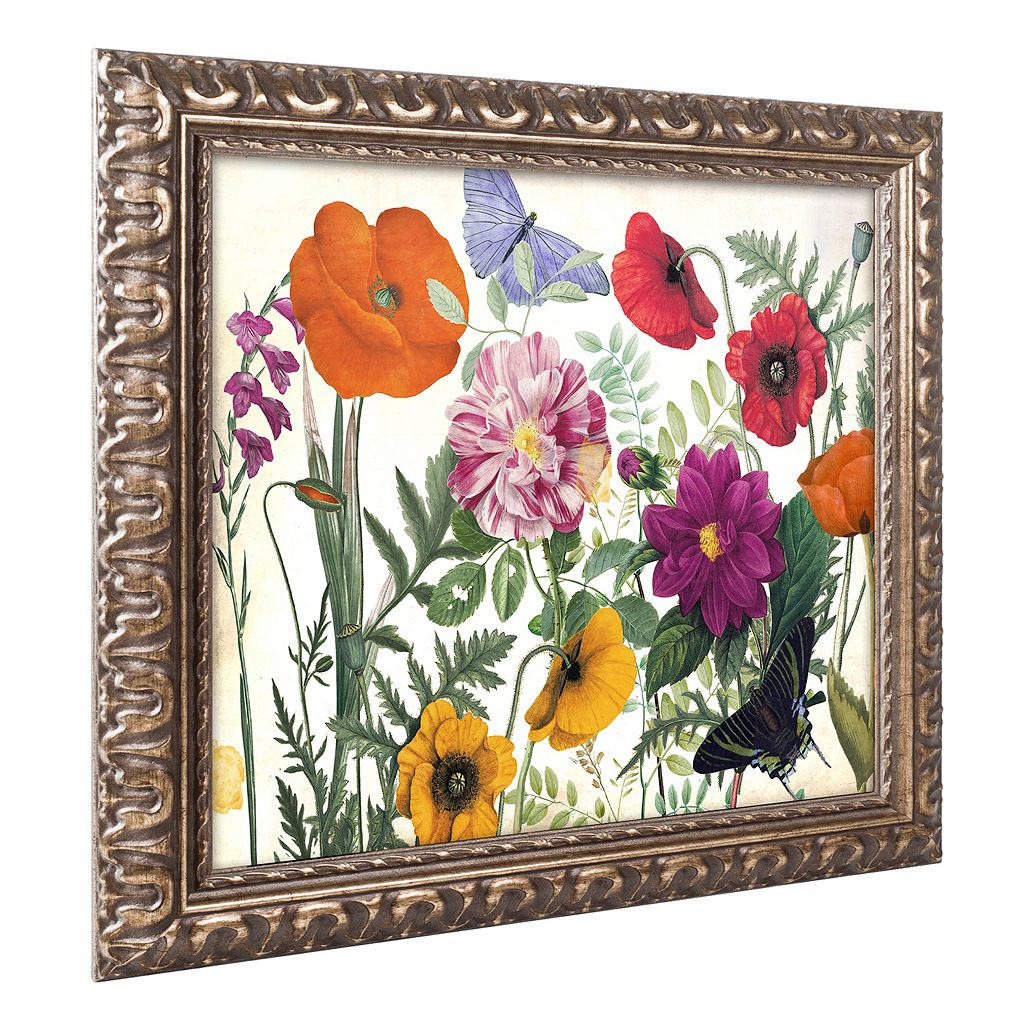 Trademark Fine Art Printemps I Ornate Framed Wall Art