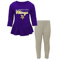 Baby Minnesota Vikings Tiny Trainer Tee & Pants Set