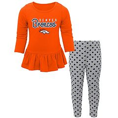 Baby Denver Broncos Tiny Trainer Tee & Pants Set
