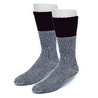 Extended Size Croft & Barrow® 2-pack Crew Socks