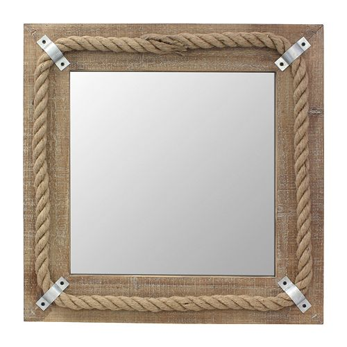 Stonebriar Collection Wood Wall Mirror