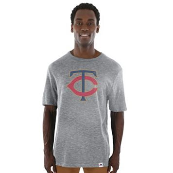 Men's Majestic Minnesota Twins Fast Pitch Tee