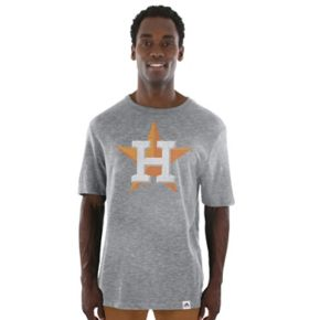 Men's Majestic Houston Astros Fast Pitch Tee