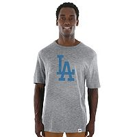 Men's Majestic Los Angeles Dodgers Fast Pitch Tee