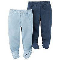 Baby Boy Carter's 2-pk. Babysoft Footed Pants