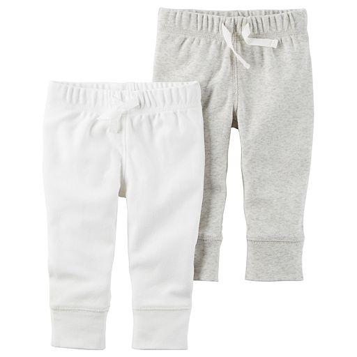 Baby Carter's 2-pk. Solid Pants