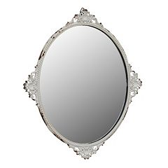 Stonebriar Collection Decorative Tray & Wall Mirror