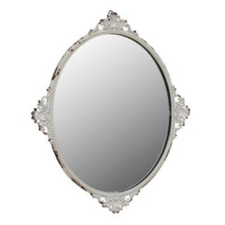 Stonebriar Collection Decorative Tray & Wall Mirror