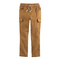 Boys 4-10 Jumping Beans® Twill Cargo Pants