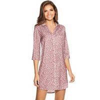 Women's Maidenform Pajamas: Island Silk Sleep Shirt