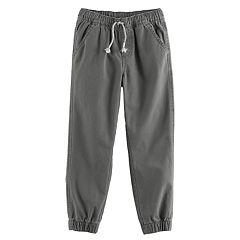Boys 4-10 Jumping Beans® Canvas Jogger Pants