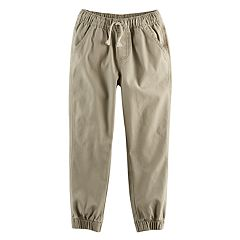 Boys 4-10 Jumping Beans® Canvas Jogger Pants