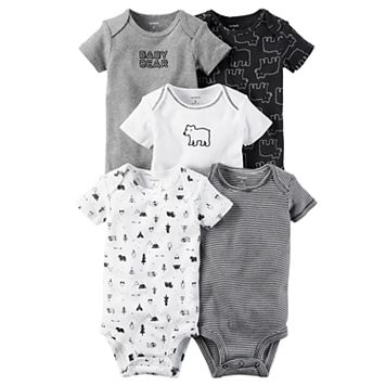 Baby Boy Carter's 5-pk. Bear Bodysuits