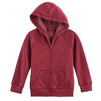 Boys 4-10 Jumping Beans® Basic Fleece Zip Hoodie