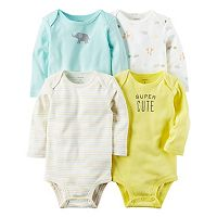 Baby Carter's 4 pkLong Sleeve