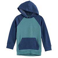 Boys 4-10 Jumping Beans® Raglan Colorblock Pullover Hoodie