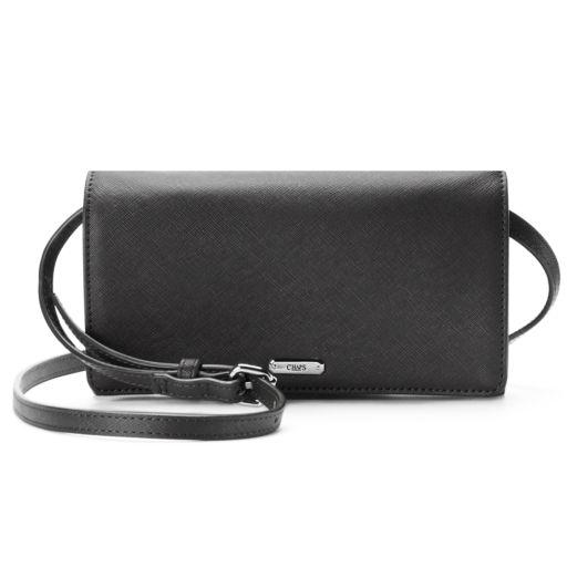 Chaps Kaelyn Saffiano Flap Crossbody Bag