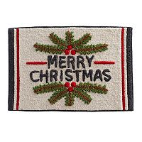 St. Nicholas Square® Ensembles Merry Christmas Bath Rug