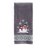 St. Nicholas Square® Ensembles Snowmen Hand Towel