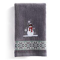 St. Nicholas Square® Ensembles Snowmen Fingertip Towel