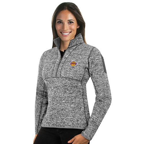 Women's Antigua Los Angeles Lakers Fortune Pullover