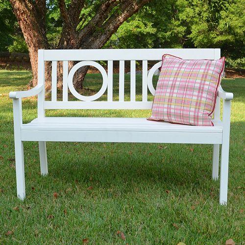 Bentley Outdoor Wood Bench