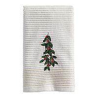 St. Nicholas Square® Ensembles Holly Fingertip Towel