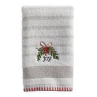 St. Nicholas Square® Ensembles Joy Fingertip Towel