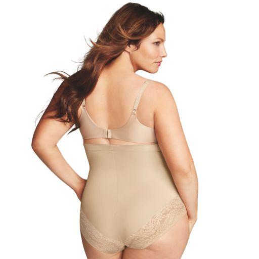 Plus Size Maidenform Shapewear Curvy Firm High-Waist Shaping Brief DM1023