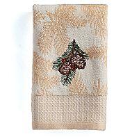 St. Nicholas Square® Ensembles Pine Bough Fingertip Towel