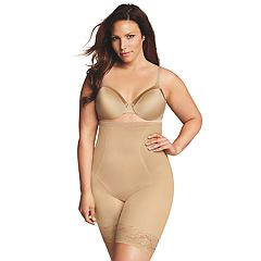 Plus Size Maidenform Shapewear Curvy Firm High-Waist Thigh Slimmer DM1024