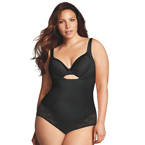 Plus Size Maidenform Shapewear Curvy Firm Wear Your Own Bra Body Shaper DM1025