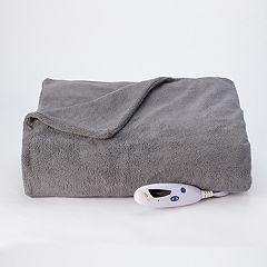 Biddeford Heated Extra-Long Microplush Throw
