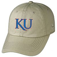 Adult Top of the World Kansas Jayhawks Crew Adjustable Cap