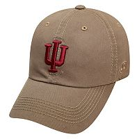 Adult Top of the World Indiana Hoosiers Crew Adjustable Cap