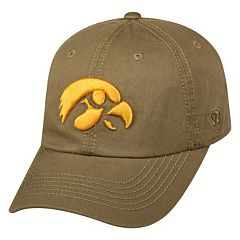 Adult Top of the World Iowa Hawkeyes Crew Adjustable Cap