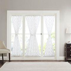 Madison Park 1-Panel Iris Sheer Side Light Door Curtain