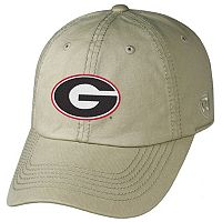 Adult Top of the World Georgia Bulldogs Crew Adjustable Cap