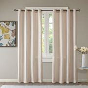 Madison Park 2-pack Essentials Elias Jacquard Window Curtains