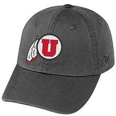 Adult Top of the World Utah Utes Crew Adjustable Cap