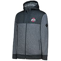Men's Ohio State Buckeyes Cloud Colorblock Fleece Hoodie