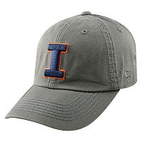 Adult Top of the World Illinois Fighting Illini Crew Adjustable Cap