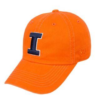Adult Top of the World Illinois Fighting Illini Crew Adjustable Cap