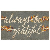 Mohawk® Home ''Always Be Grateful'' Coir Doormat - 18'' x 30''