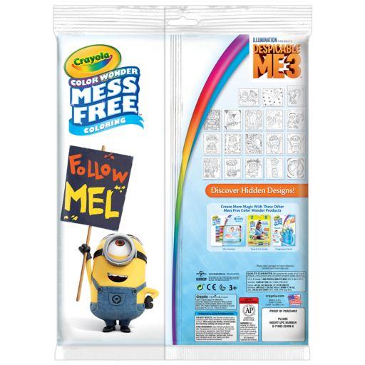 Crayola Mess-Free Color Wonder Despicable Me Activity Set